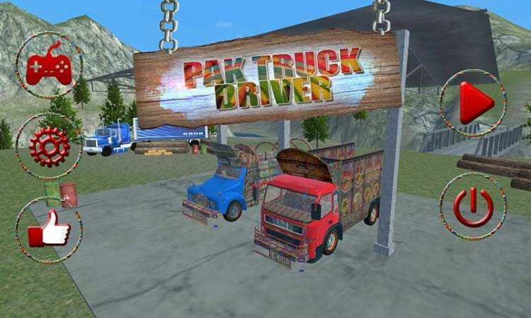 Pakistan truck driver game